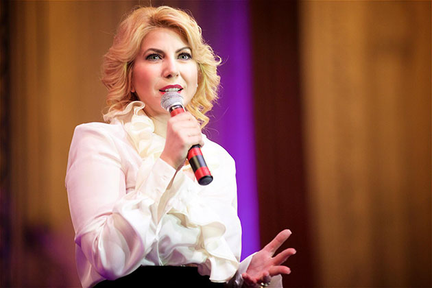 Cristina Chiriac - Presedinta Federatia Patronatelor Femeilor Antreprenor