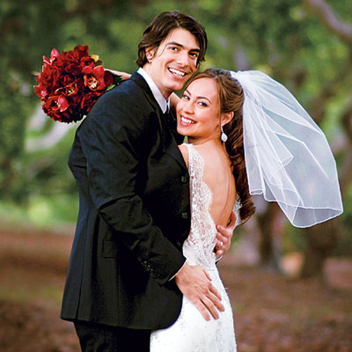 Brandon Routh si Courtney Ford