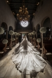 Bride-Styled-Her-Wedding-Dress-26-Foot-Long-Veil