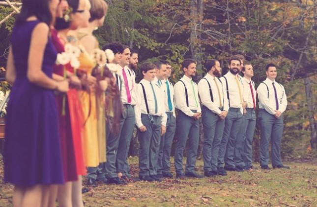 Rainbow-Colored-Outdoor-Wedding-ceremony-Inspiration-645x423