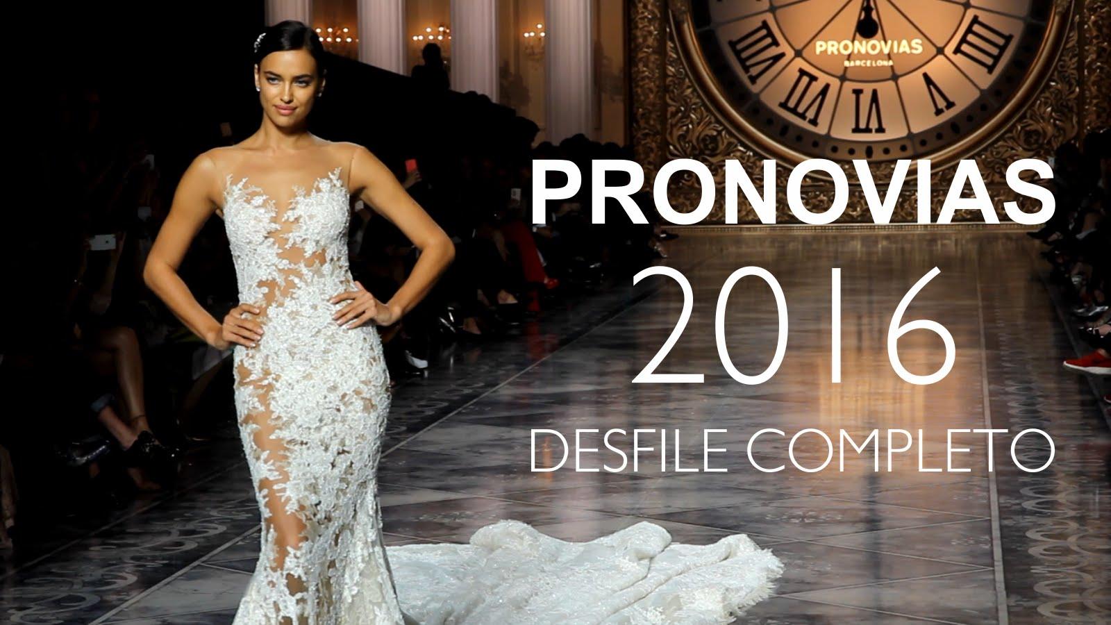 Rochii de Mireasa Colectia Pronovias 2016