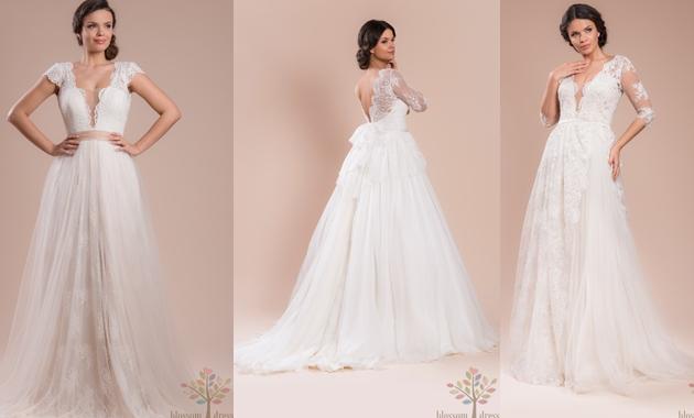 Top 3 cele mai apreciate rochii de mireasa de la Blossom Dress